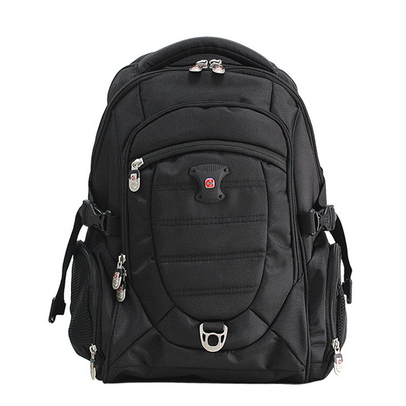 Brand swiss gear computer laptop backpack 15 6 inch nylon waterproof 100 high quality travel for Travel gear brand