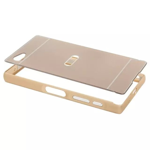 aluminum frame phone case for Sony Xperia compact (1)