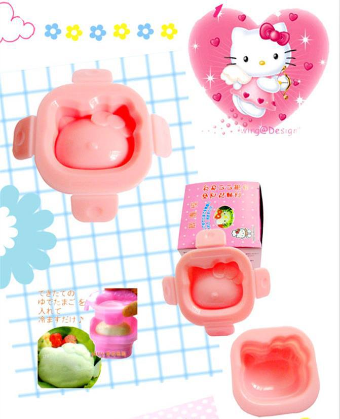 Hot Selling Sushi Mold Hello Kitty Onigiri Mold for Sushi Styling Cooking Tools in Sushi Maker Creative DIY 3D Sushi Rice Mold(China (Mainland))