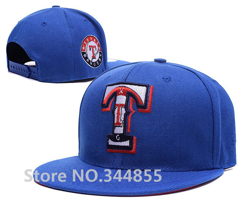 Classic Men's Texas Rangers Royal Blue Color Snapback Hats Baseball Sport Team Embroidered T Letter Adjustable Caps(China (Mainland))