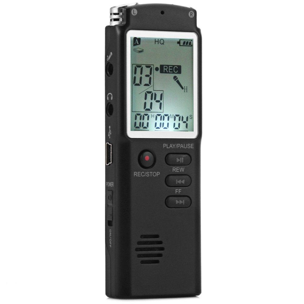 2 in 1 T60 Professional 8GB Time Display Recording Digital Voice / Audio Recorder Dictaphone MP3 Player Grabadora De Voz(China (Mainland))