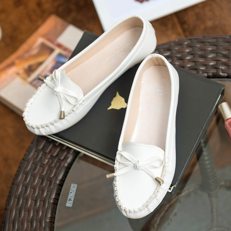 New 2016 Women Shoes Loafers Slip-on Ballet women Flats Comfort Bow shoes woman moccasins sapatilhas femininos<br><br>Aliexpress