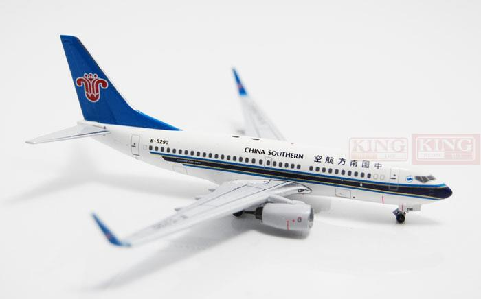 Special offer: Aeroclassics China Southern Airlines B-5290 1:400 B737-700/w commercial jetliners plane model hobby(China (Mainland))