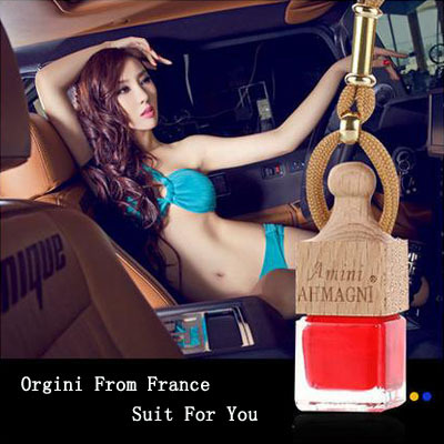 A three-piece perfumes 100 original hanging car perfume interior car styling ornaments air freshener bottle(China (Mainland))