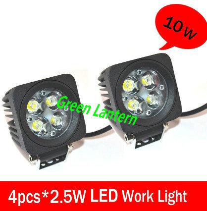 10w car led spotlight car led flood light