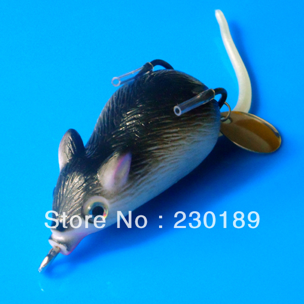 New Fishing Lure Bait Soft Rubber Frog Fish Lures Mouse Swimbait Hook Frogs - Online Store 230189 store