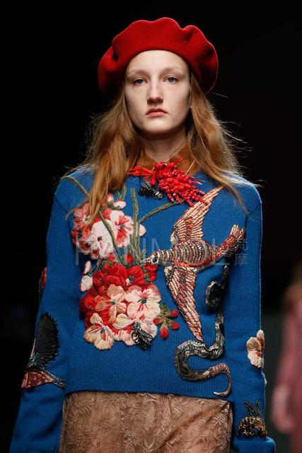 Вышивка и мода 2015