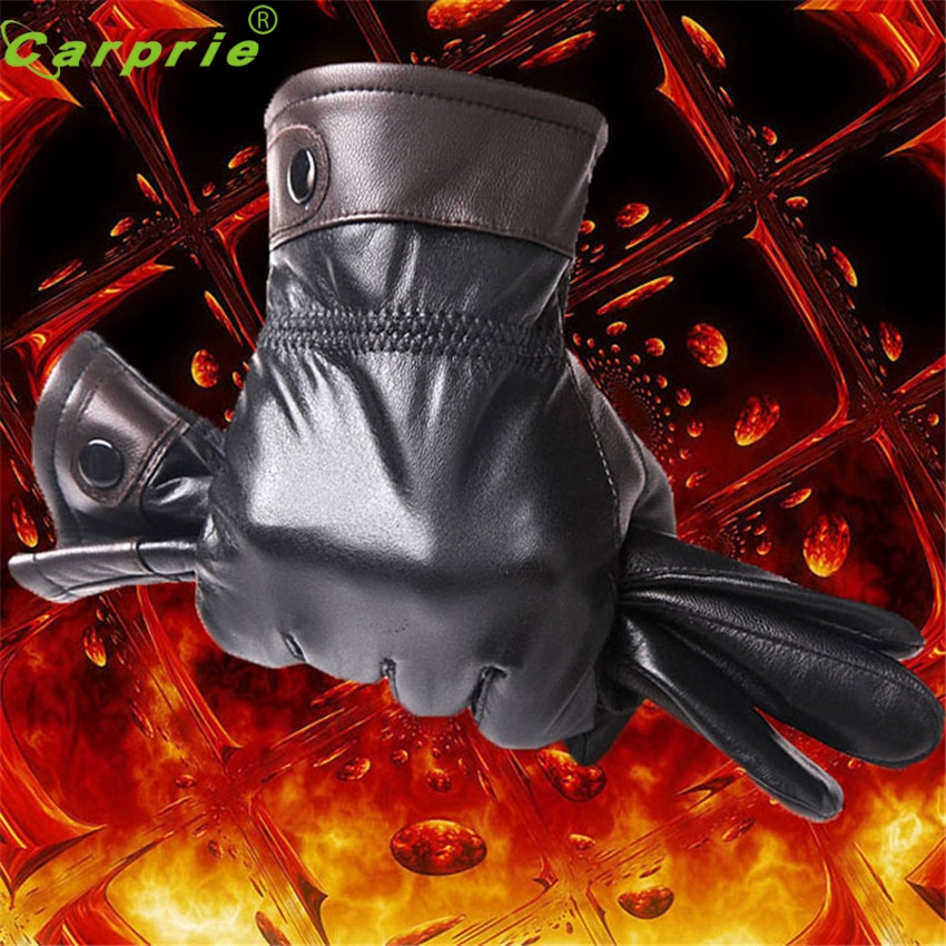 Dependable Fashion New Mens Genuine Lambskin KID Leather Winter Driving Motorcycle Gloves Ap11 dropshipping(China (Mainland))
