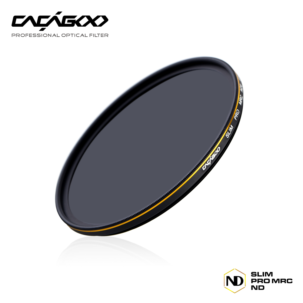 CACAGOO 77mm ND1000 Filter 10 Stop Optical Glass Neutral Density Multi-Coated Lens Filter for Nikon Canon Olympus Pentax Cameras(China (Mainland))