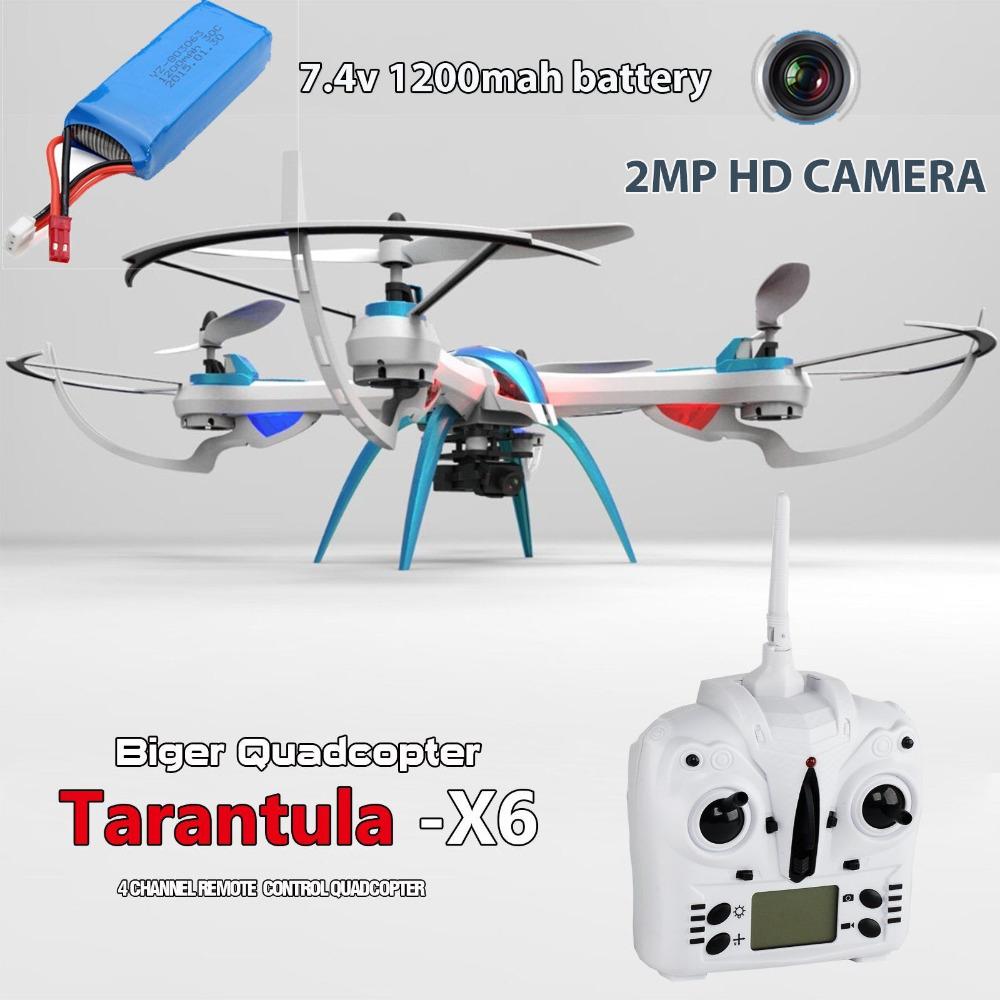 Tarantula X6 IOC RC Quadcopter YiZhan JJRC H16 2.4G 4CH Camera Drone With 2MP Camera