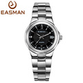 EASMAN Brands Watch Shop Black Date Waterproof Womens Ladies Dress Watches Full Steel Quartz Luxury Wrist