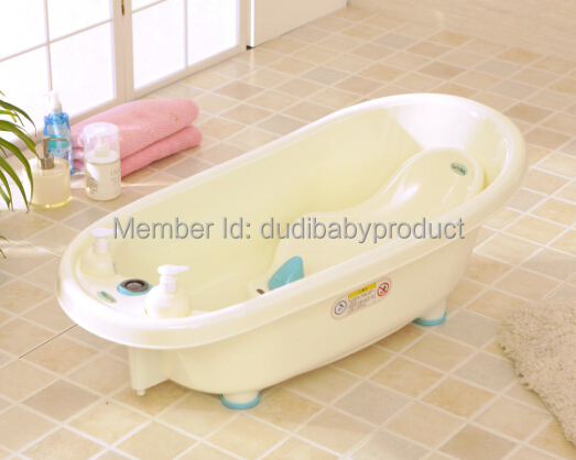 New Baby Tub plastic Baby Bathtub Eco-friendly Portable Swimming Tub With Temperature(China (Mainland))