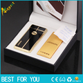 1pc Windproof lighter USB choose a variety of Fashion metal Electronic Gift Box safe Ultra Thin