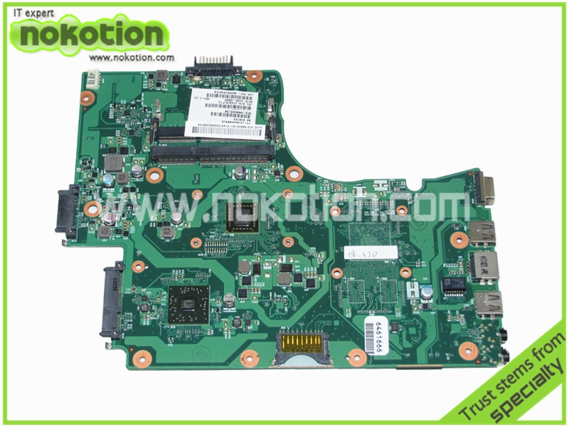 Laptop motherboard for TOSHIBA  Satellite C655 C650D V000225130 PN 1310A2408915 AMD E450 CPU onboard full tested<br><br>Aliexpress