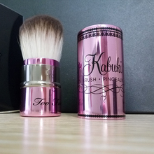 1pcs Real Brand  limited Quantity T00 Faced kabuki Loose Powder brush pinceaux Retractable Makeup Powder Brush(China (Mainland))