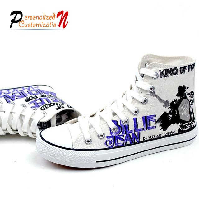 Майкл Джексон плоские туфли плохо billie jean стиль размер 35-43 повседневная обувь ...
