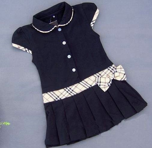 1505-Free Shipping Girls dresses Pleated tennis dress belt girls clothes many color-Wholesale(China (Mainland))