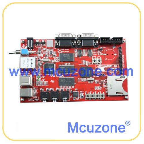 ATMEL AT91SAM9261 Development Board, AT9261, USB, 4.3'TFT LCD, Ethernet 480*272(China (Mainland))