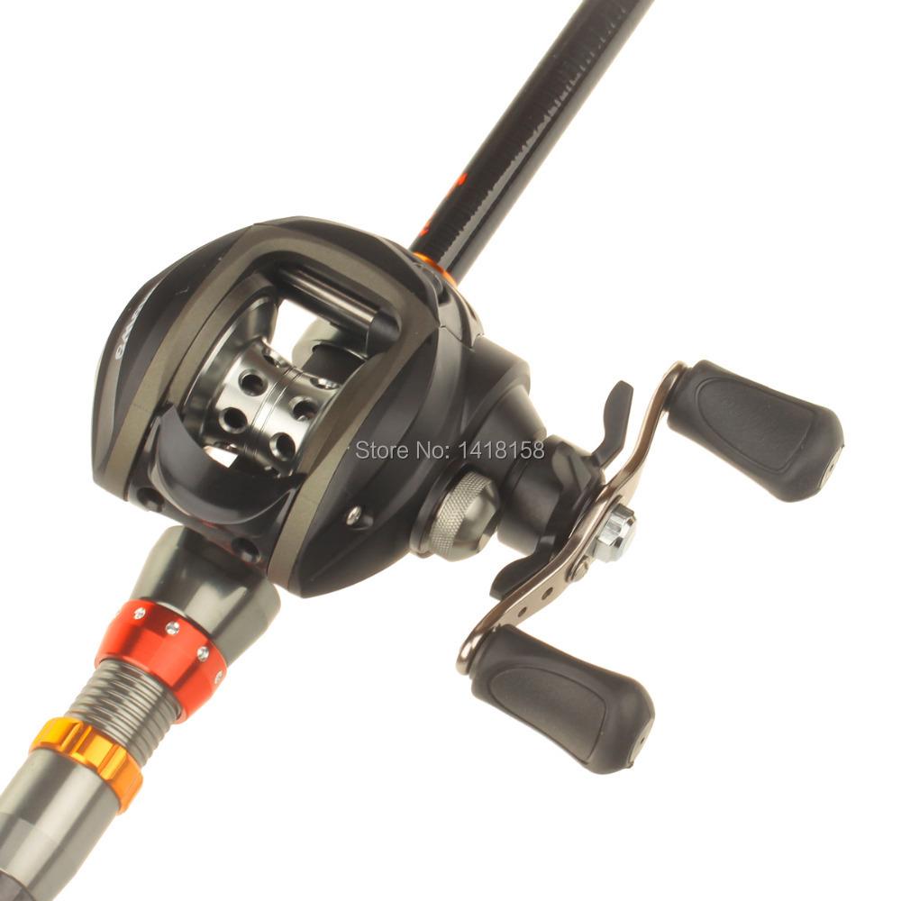 High quality Yoshikawa 7+1 6.3:1 Bearing Left Right Hand Fishing Reel High Speed moulinet peche Bait Casting Fishing Boat Reel(China (Mainland))