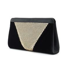 2016 Fashion patchwork bling luxury women's clutch bag leather women envelope bag evening dinner party bag female wallet Handbag(China (Mainland))