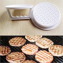 NEW Plastic Burger Press Hamburger Meat Beef Patty Maker Mold DIY Kitchen Tools(China (Mainland))