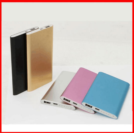 Customized LOGO Power Bank 5600mAh USB External Mobile Backup Powerbank Battery for Pad mobile Phone Universal Charger(China (Mainland))