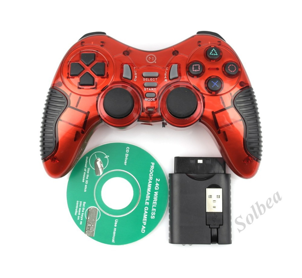 Hot 5 In 1 2.4G Bluetooth Wireless Double shock Gaming Controller Console Gamepad for PS3 Playstation 3 PC Video Android Game(China (Mainland))