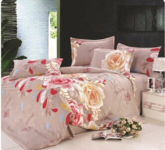 Free shipping 2014 Hot sale! King Queen full size bedding sets/bedclothes/ duvet covers bed sheet the bed linen home HA0256(China (Mainland))