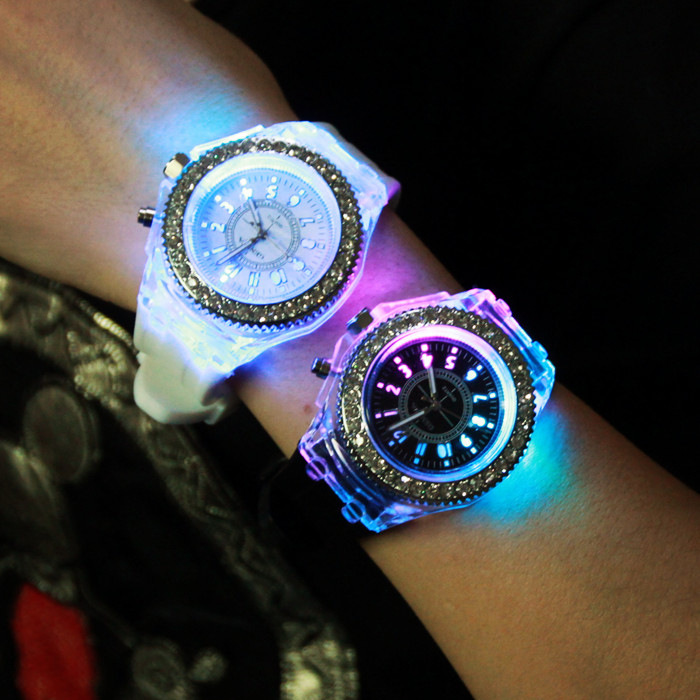 2015 Hot Selling Student Geneva Silicone Multiple Colors
