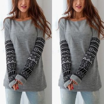 Women O-Neck Casual Pullover Ladies Long Sleeve Tops Shirt Hot Sale knitted Female Warm Tops Sale Clothing