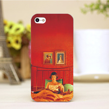 PZ0004-43-5 For Amelie Design Customized cellphone transparent cover cases for iphone 4 5 5c 5s 6 6plus Hard Shell
