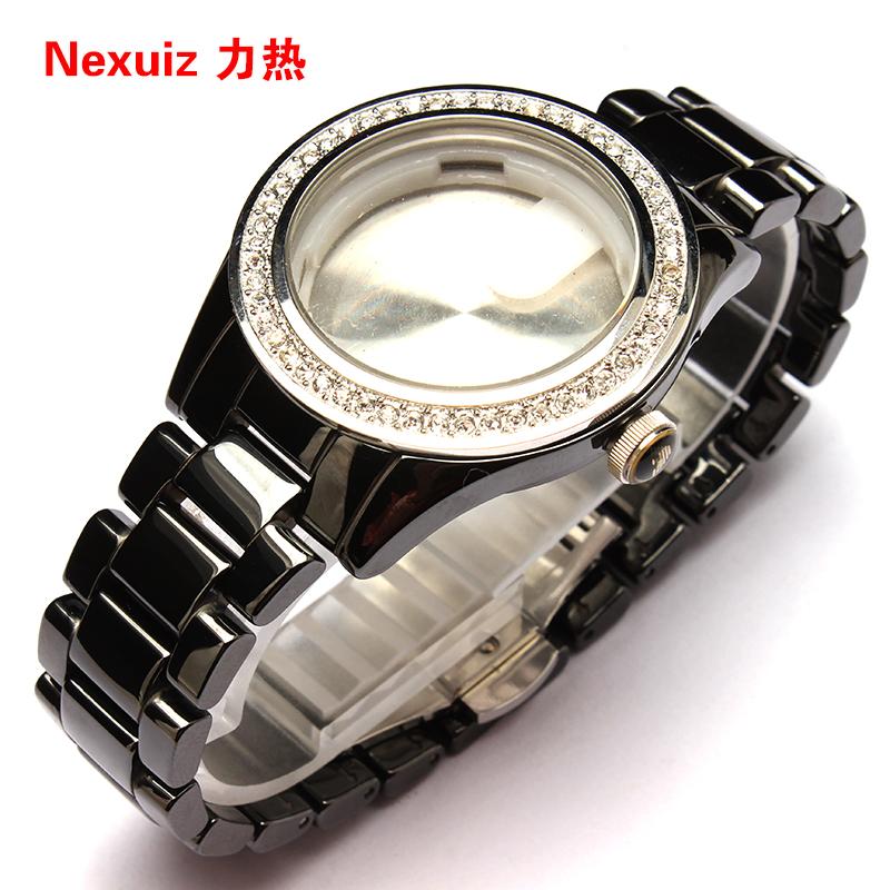 new watchbandshigh quality ceramic watchband black