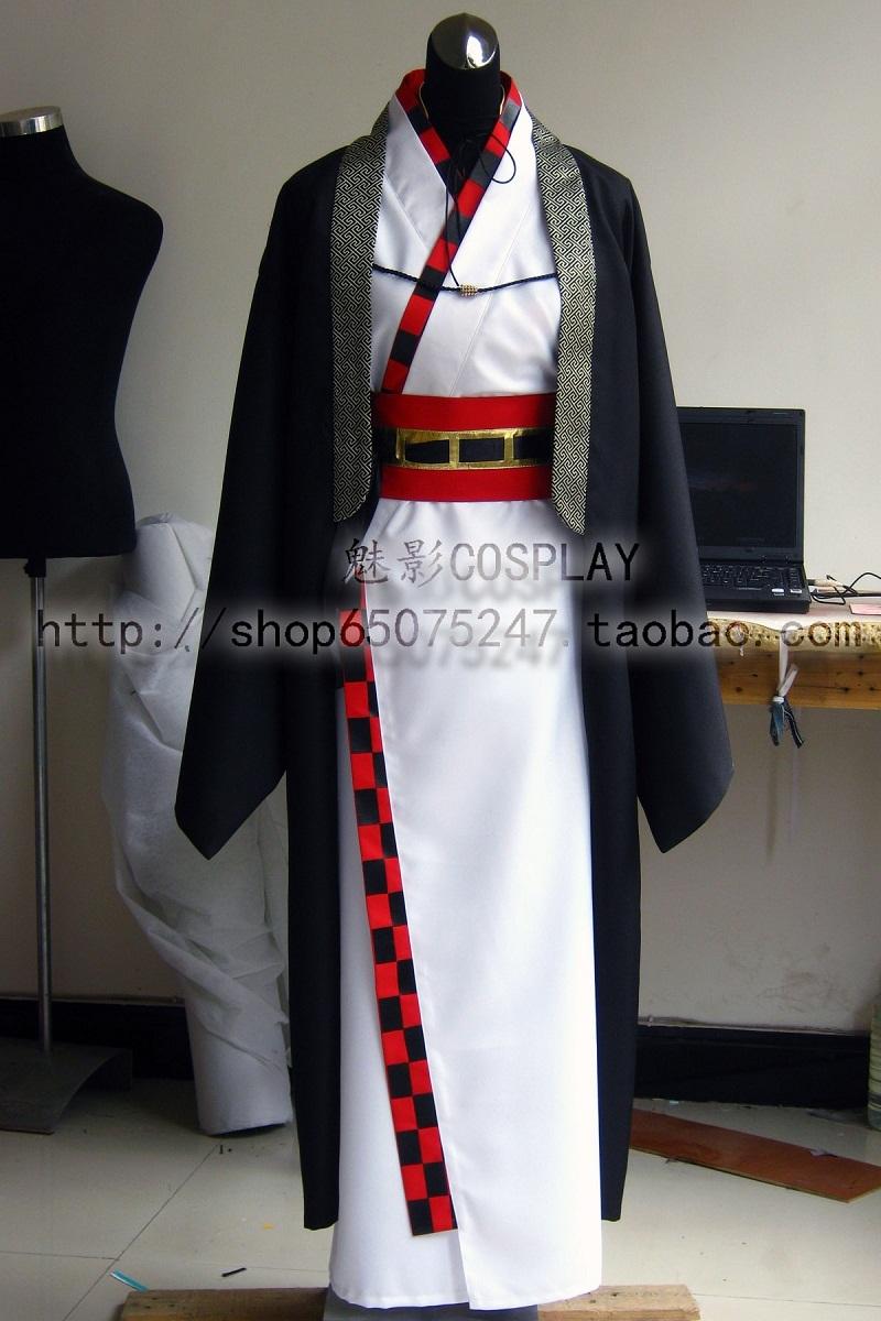Hakuouki Kazama Chikage Cosplay Anime Costume Any SizeОдежда и ак�е��уары<br><br><br>Aliexpress