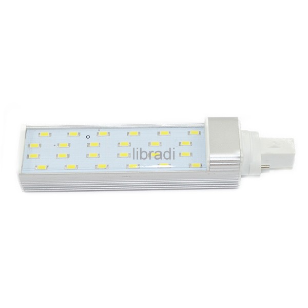 Transparent Cover G23 24 SMD 5730 12W 960Lumen LED Light Lamp Tube White / Warm Bulb 85-265V - LIBRADI TRADING CO LTD store
