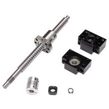 Price Anti Backlash Ballscrew SFU1605 L250mm Ball Screw+ BK/BF12 Support + Couplers - Home Improvement Mall store