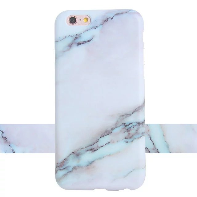 Silicon Granite Marble Texture Soft Gel TPU back cover anti-knock shockproof phone case for iphone 6 6S June 6 s plus 5.5″ 4.7″