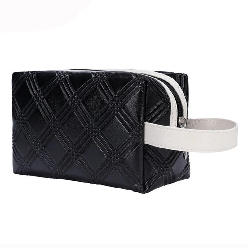 2016 Professional Cosmetic Case Bag Mini Portable Waterproof Solid Color Large Capacity Women Makeup Storage Travel Bag(China (Mainland))