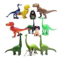 12pcs/lot Arlo Spot The Good Dinosaur Miniatures Anime PVC Action Figures Dinosaurs Movie Figurines Set Kids Toys for Boys Girls