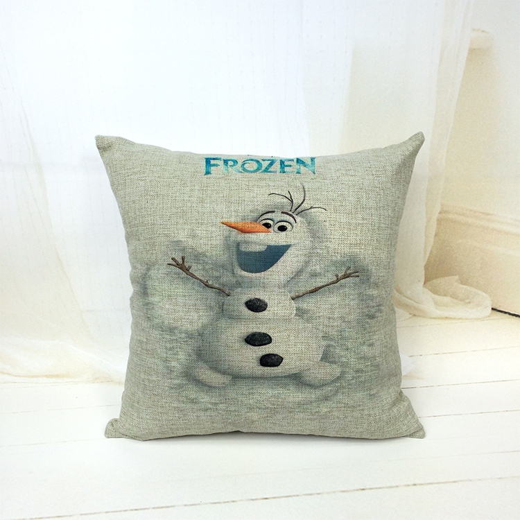 Cotton/linen Blending New Classical 2016 New Design Car Chair Sofa Cushion Cove Movie Picture Custom-Made(China (Mainland))