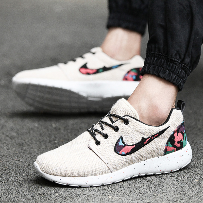 Гаджет  2015 Autumn Men Women Casual Shoes Classic New Style Breathable Mesh Men Flat Shoes High Quality Floral Trainers for Women None Обувь