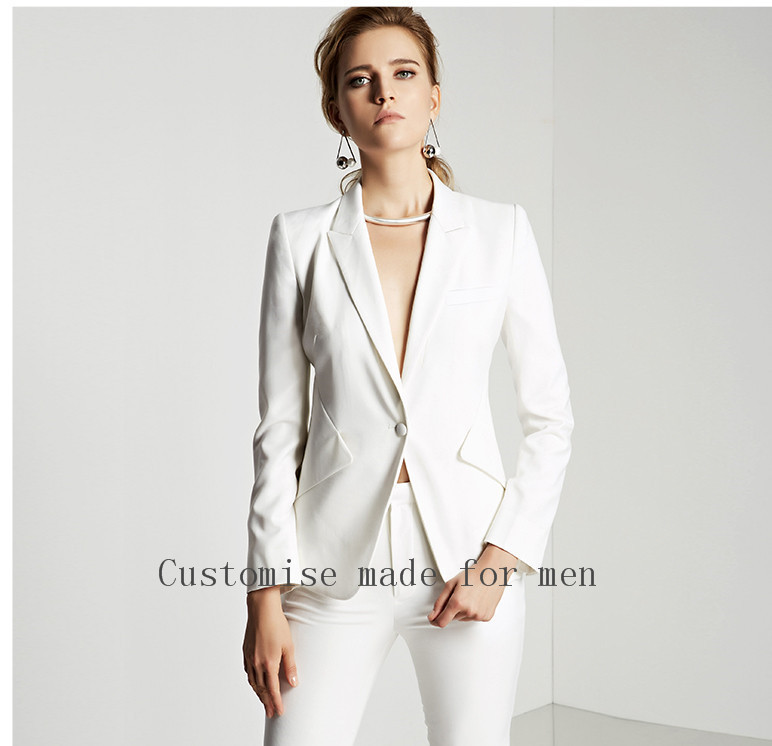 High-Quality-New-2015-Ivory-Autumn-Business-Ladies-Pants-Suits-Formal-Office-Women-Work-Wear-Trouser