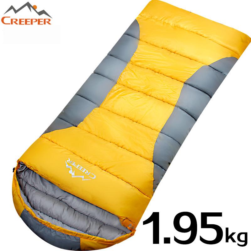 CR-SL-003 widen spliced  adult couples  outdoor sleeping bag ultralight sleeping bags envelopes type splicing double<br><br>Aliexpress