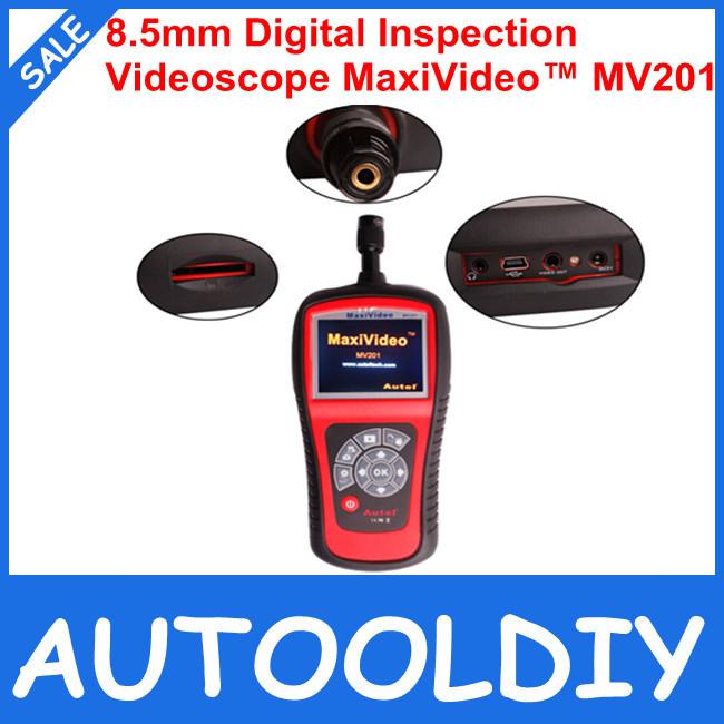 2015 New Arrival 100% Original Price 8.5mm Diameter imager Head inspection camera Digital Videoscope MaxiVideo MV201(China (Mainland))