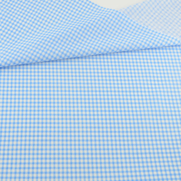 100% Cotton Fabric Blue and White Check Style Patchwork Geometric Decoration Tissue Teramila Fabric Tecido Quilting Home Textile(China (Mainland))
