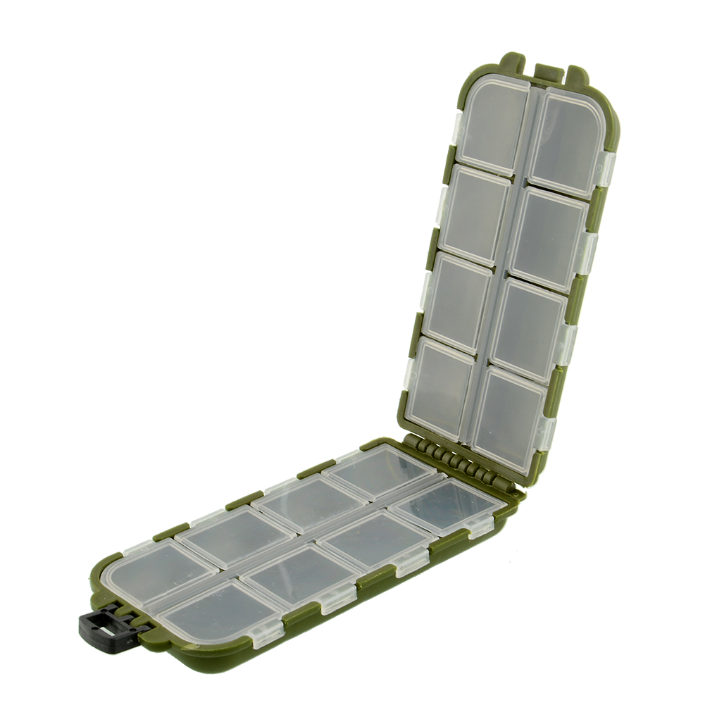 New 8 compartments storage case fly fishing accessories for Fishing tackle storage