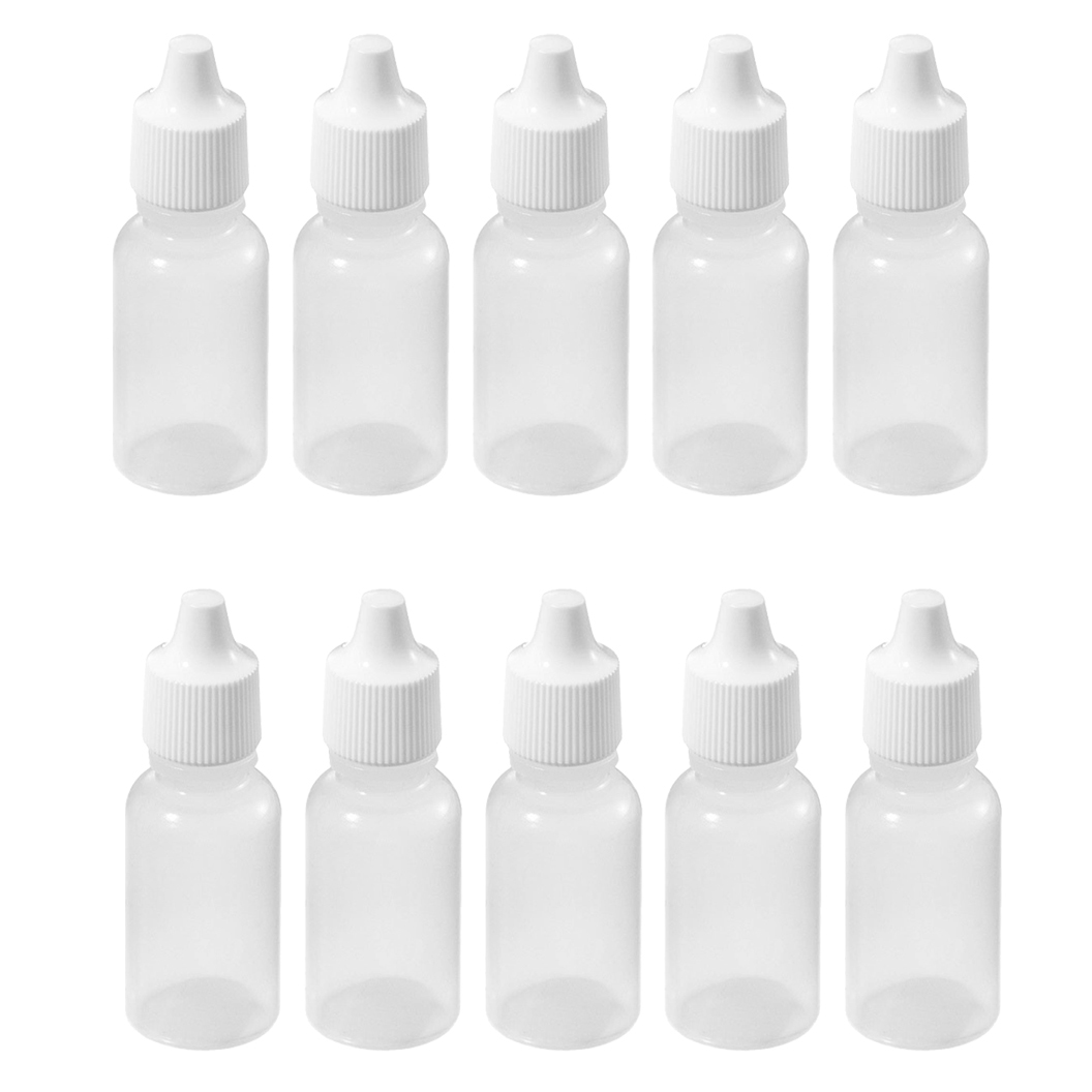 110 ML 1/3 OZ LDPE Plastic Childproof Dropper Bottles Oil Lotion Refillable Bottle - Happy Together Life store