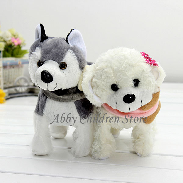 Electronic Dogs Singing Dancing Walking Musical Husky Electronic Pets Dog Electronic Toys Robot Dog Robot Pets Gift For Children(China (Mainland))
