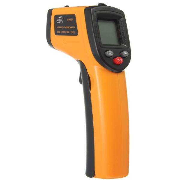Brand new Non-Contact IR Infrared Thermometer LCD Display Digital Temperature Gun Temp Thermometer Laser Handheld(China (Mainland))