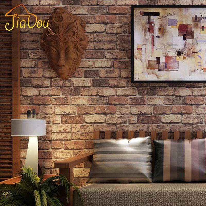 Brick Stone Wall Paper Chinese Rustic Vintage 3D PVC Exfoliator Embossed Washable WallPaper Livingroom Backdrop WallCovering 10M мебель импэкс модель 81 vegas marfil 3