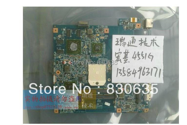 Здесь можно купить  4551G  laptop motherboard   4551G  5% off Sales promotion, only one month FULL TESTED,  Компьютер & сеть